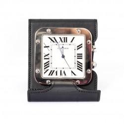 CARTIER SANTOS DESK CLOCK ALARM